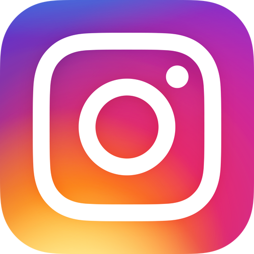 Instagram logo with link